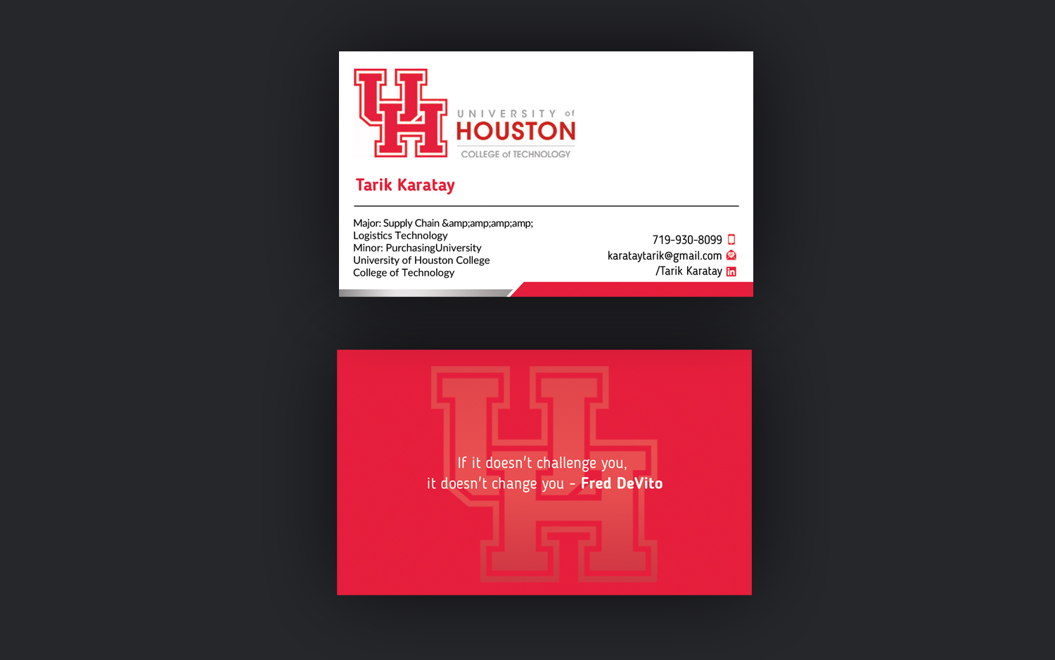 college business cards - Roberto.mattni.co