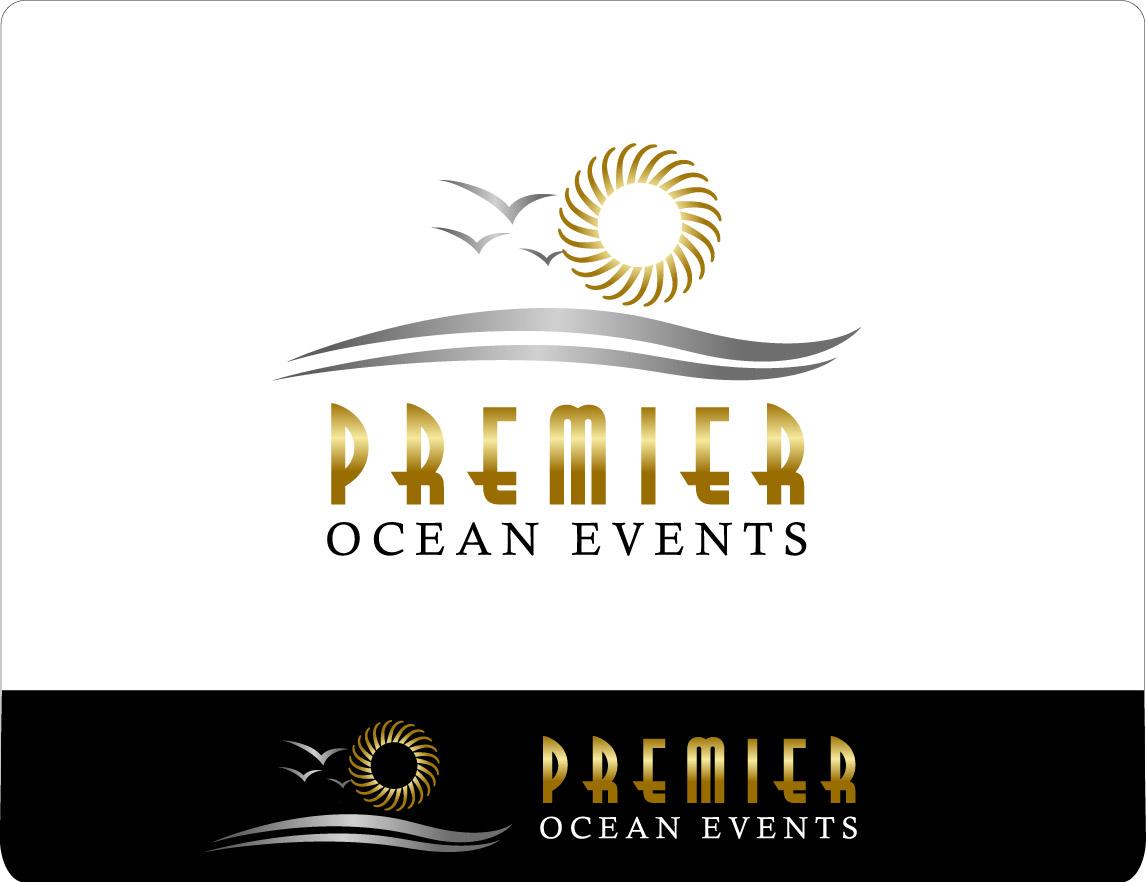 Pacific Ocean Logo Design Idea