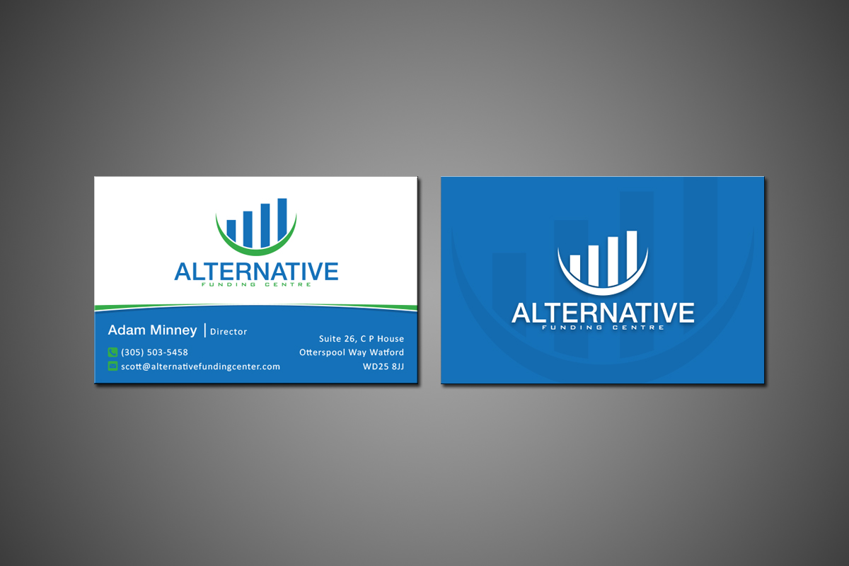 Business Business Card Design for Alternative Funding Centre by MT ...