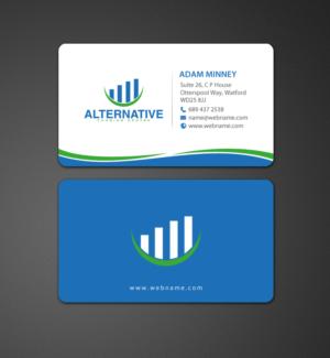223 business card designs business business card design project business card design by chandrayaaneative for alternative funding centre design 10527725 colourmoves