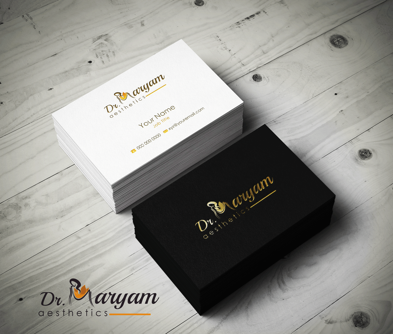 Elegant, Conservative Business Card Design for Helai Osmani by Riz ...