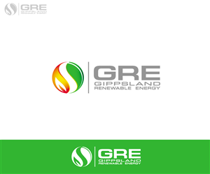 Logo Design by SlimSmille - Gippsland Renewable Energy