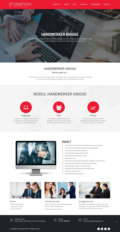 Elegant Serious Web Design For A Company By Pb Design