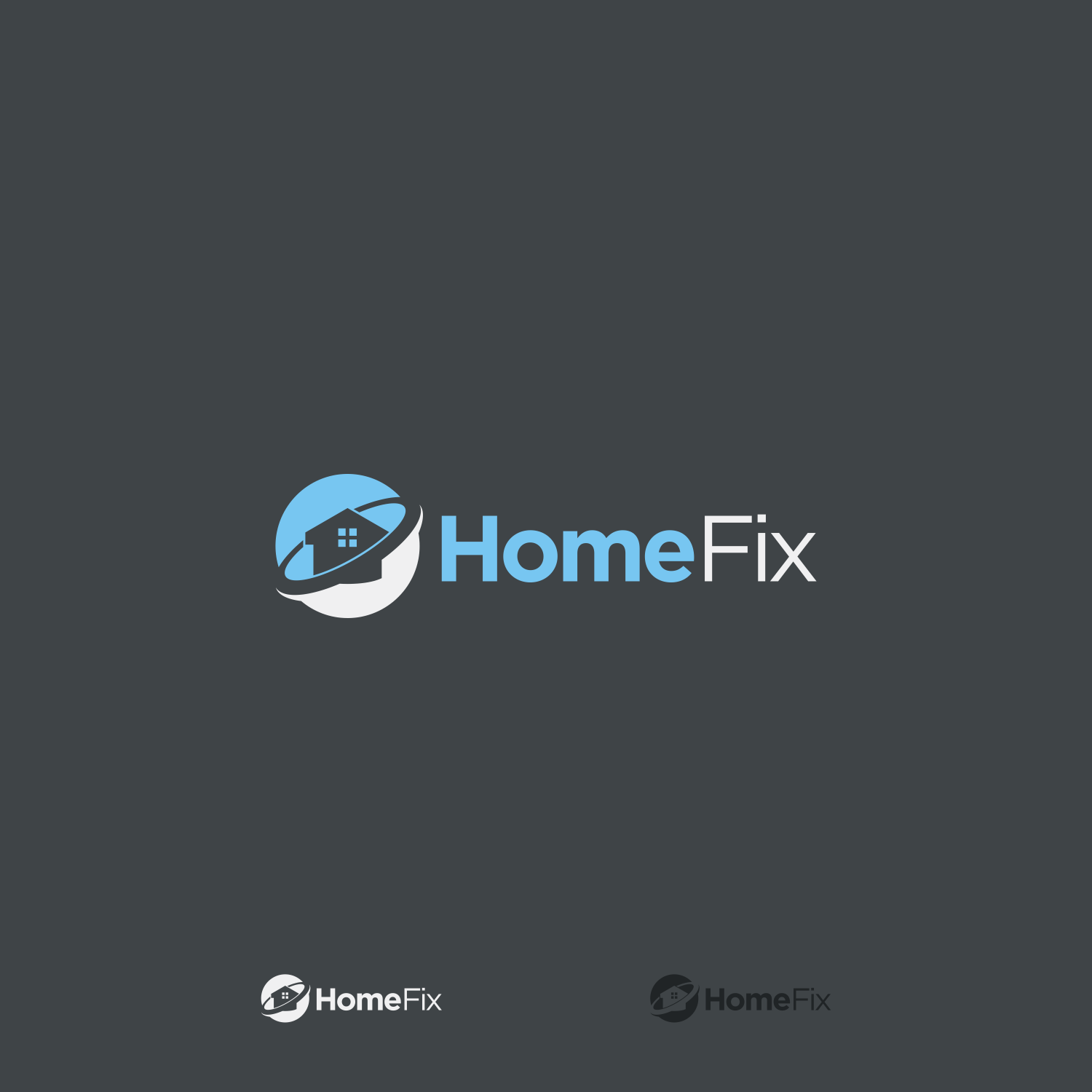 Professional Modern Logo Design For Homefix By Novita007