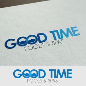 Good Time Pools U0026 Spas | Logo Design By Volodymyr Fedorov Design