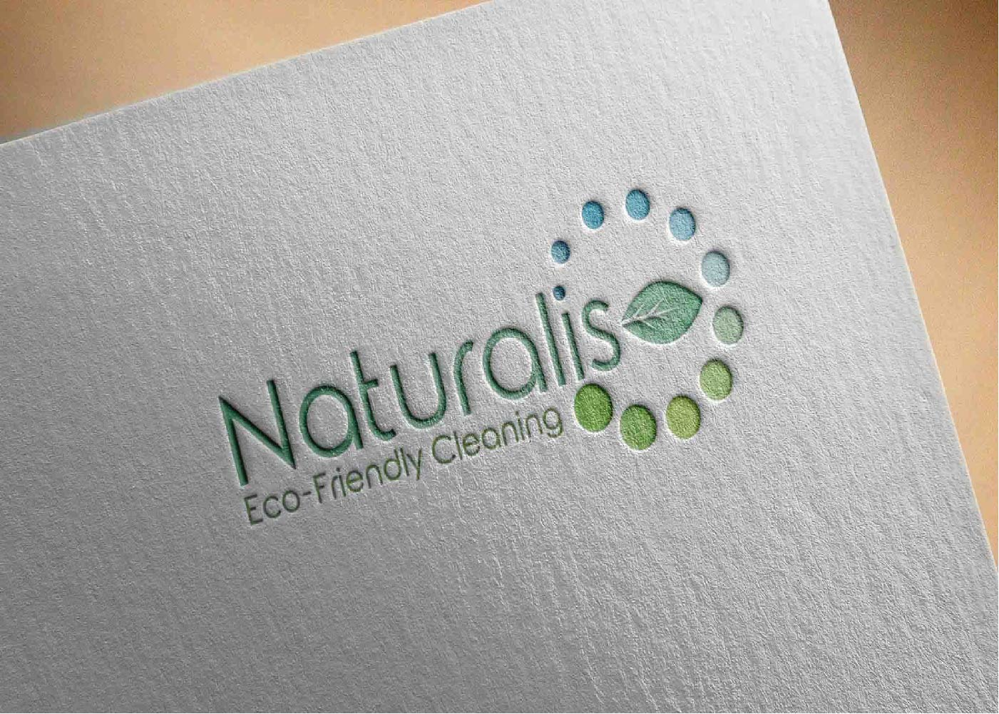 Modern serious cleaning service logo design for naturalis eco logo design by ghonam for this project design 10662054 reheart Images