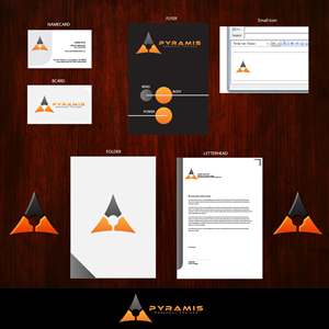 Stationery Design by Devotionsdesign - Pyramis Personal Training- Mind, Body, Power