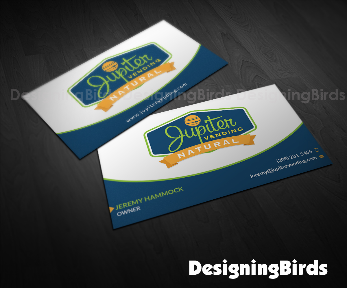 95 modern business card designs it company business card design business card design by designing birds for jupiter vending design 10568349 colourmoves