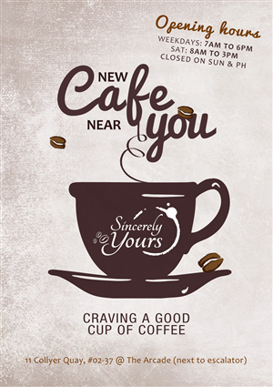 Customize 20+ Promotional Flyer Templates - Online Flyer Maker |New Coffee Shop Flyer