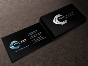 97 professional business card designs for a business in australia business card design design 10585101 submitted to coast 2 coast generator hire pty reheart Gallery