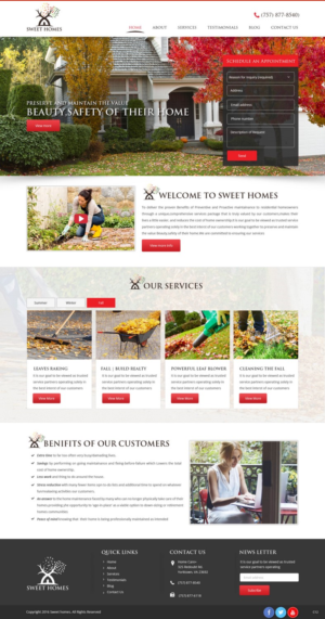 Web Design By Pb For This Project | Design: #10589909
