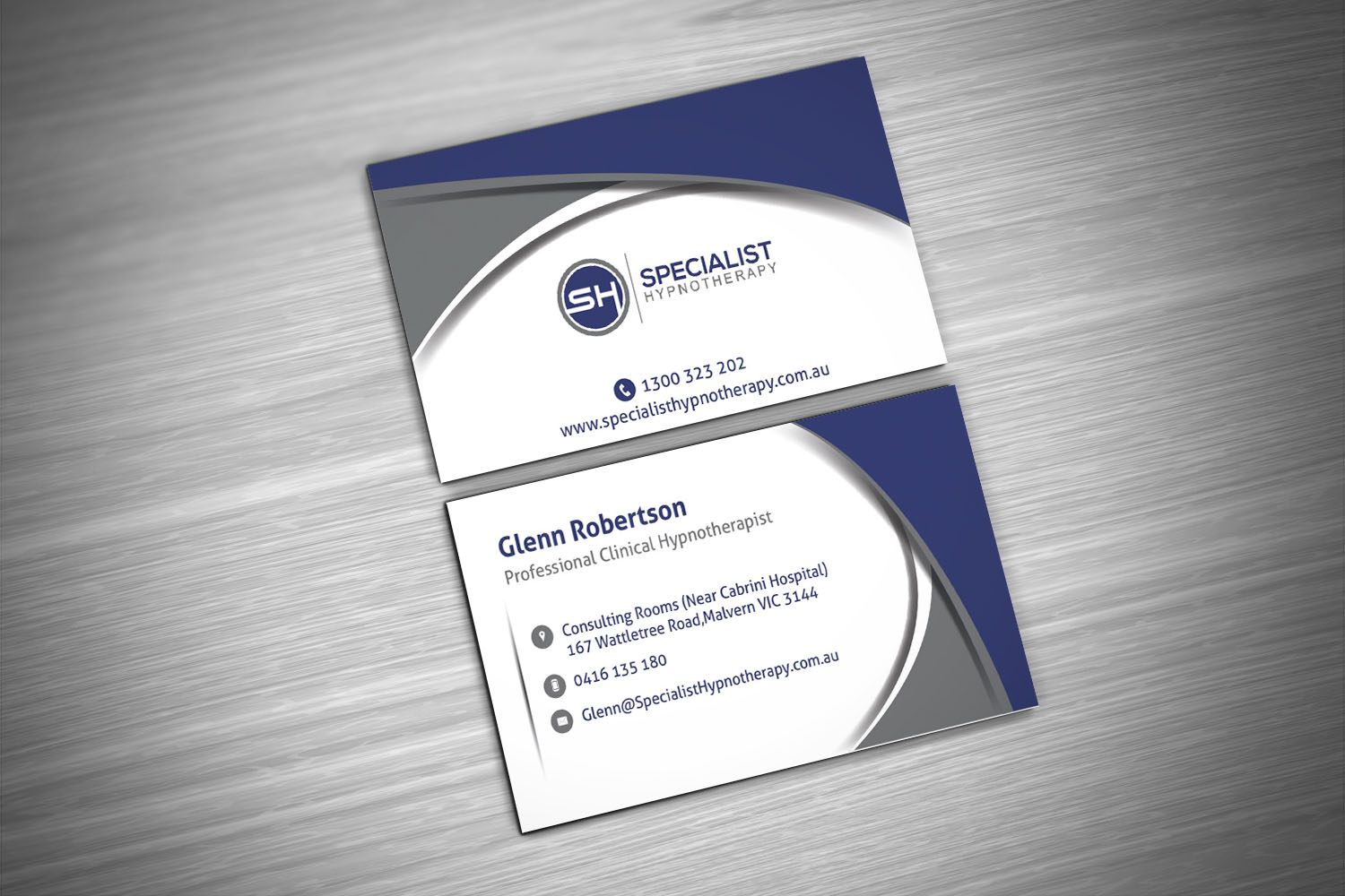 Elegant, Playful Business Card Design for Specialist Hypnotherapy ...