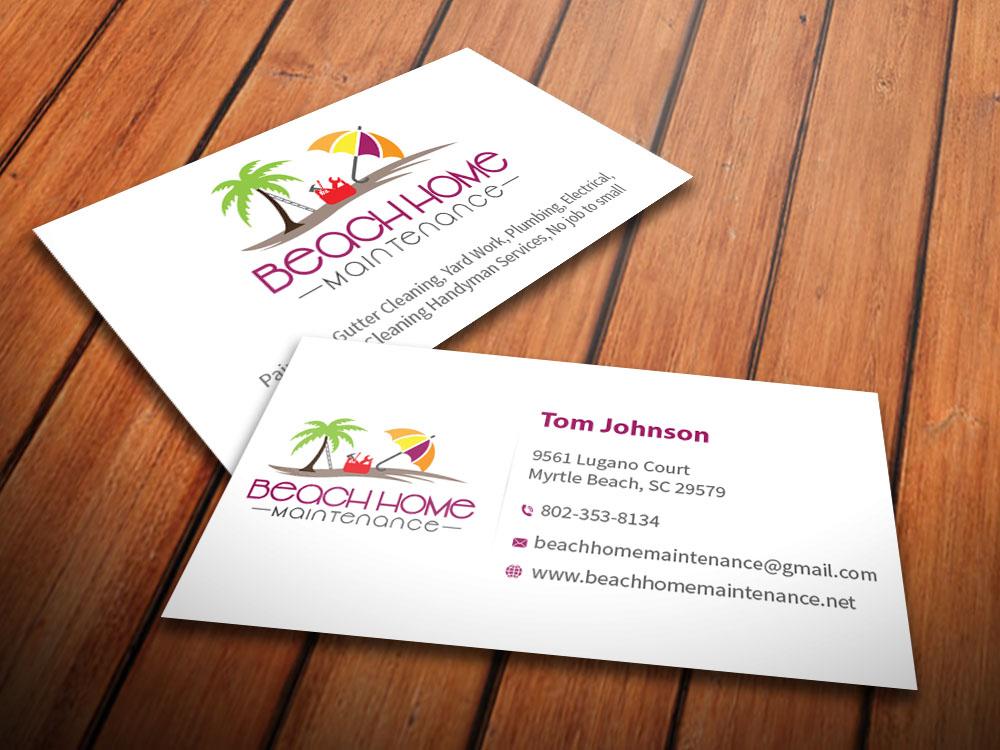36 Elegant Business Card Designs | Home Improvement Business Card ...