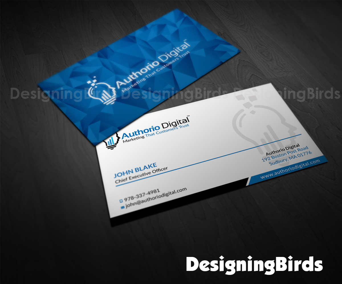 Bold Professional Marketing Business Card Design For A Company In United States 10618055