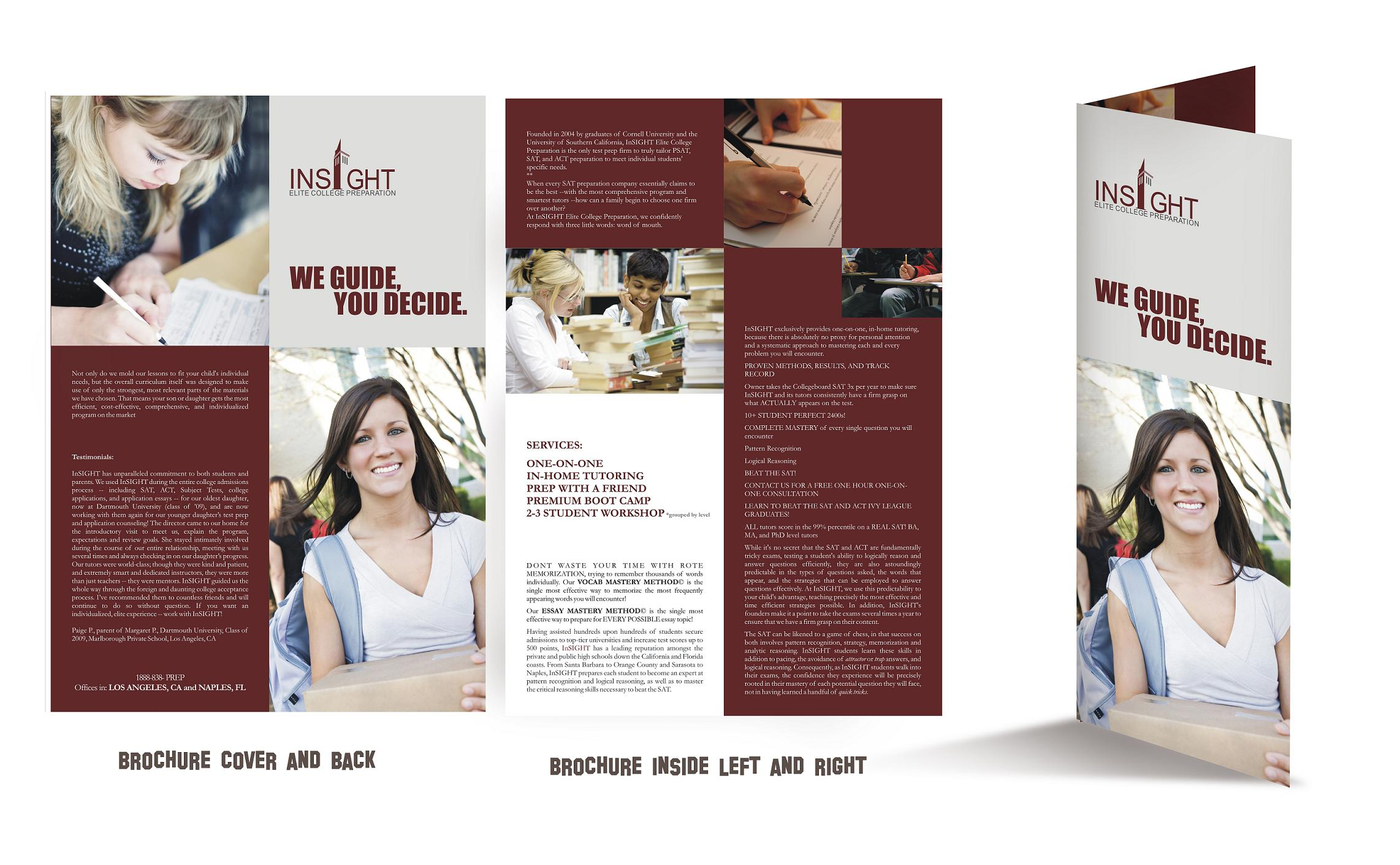 college brochure design for ivy educational group by designraju