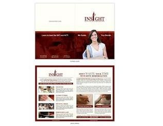 Newspaper Brochure Design Interface 20764