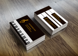 Elegant Serious Education Business Card Design For A Company By