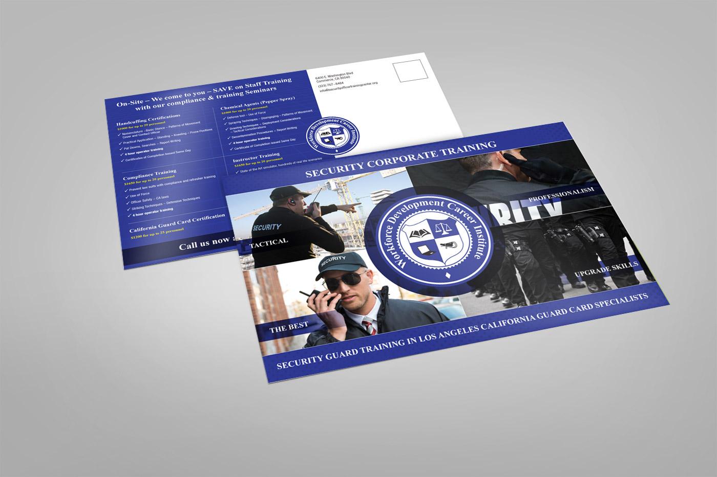 Bold, Modern Postcard Design for Workforce Development Career ...