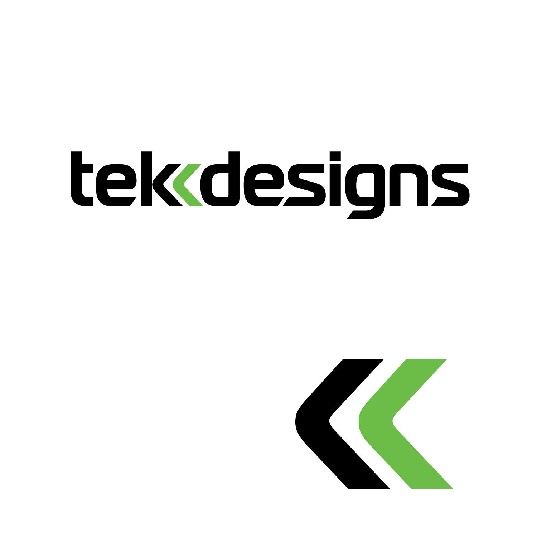 Modern serious it company logo design for tekk designs by