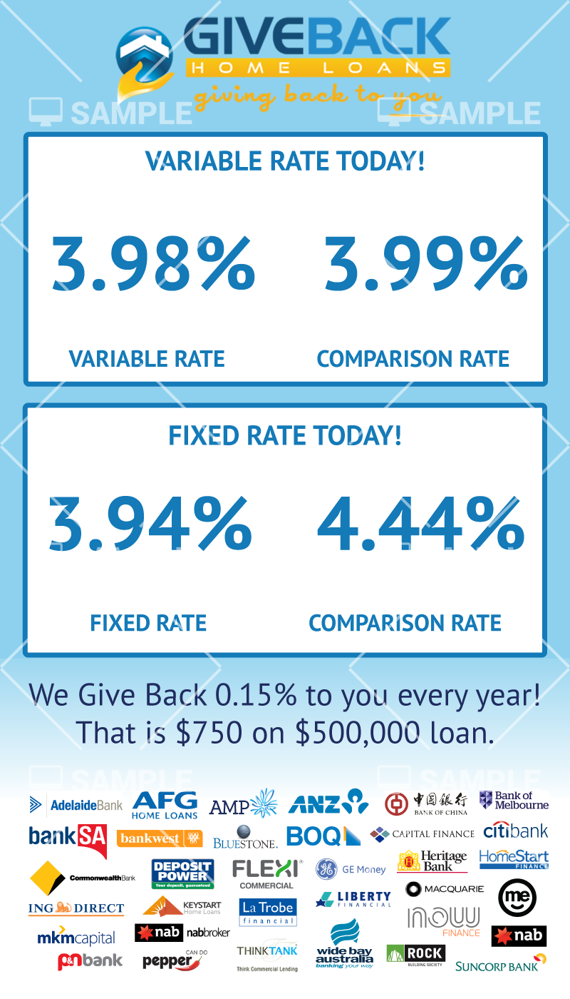 Bold, Professional, Finance Signage Design for Give Back Home Loans ...