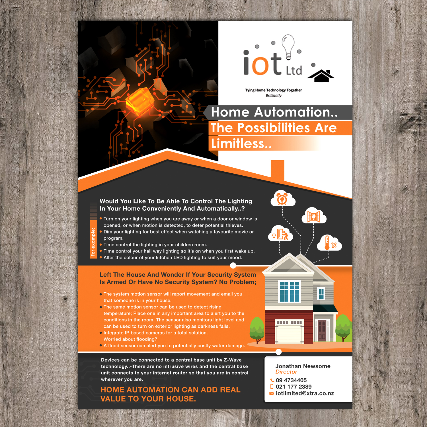 flyer design by kreative fingers kreative fingers - Home Improvement Design