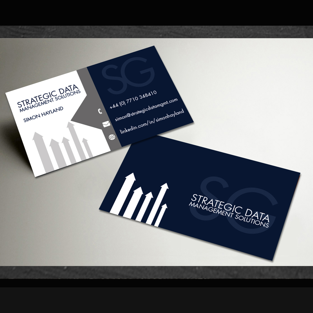 Design De Carte Visite Par Creative Forum Pour Strategic Data Management Solutions Ltd