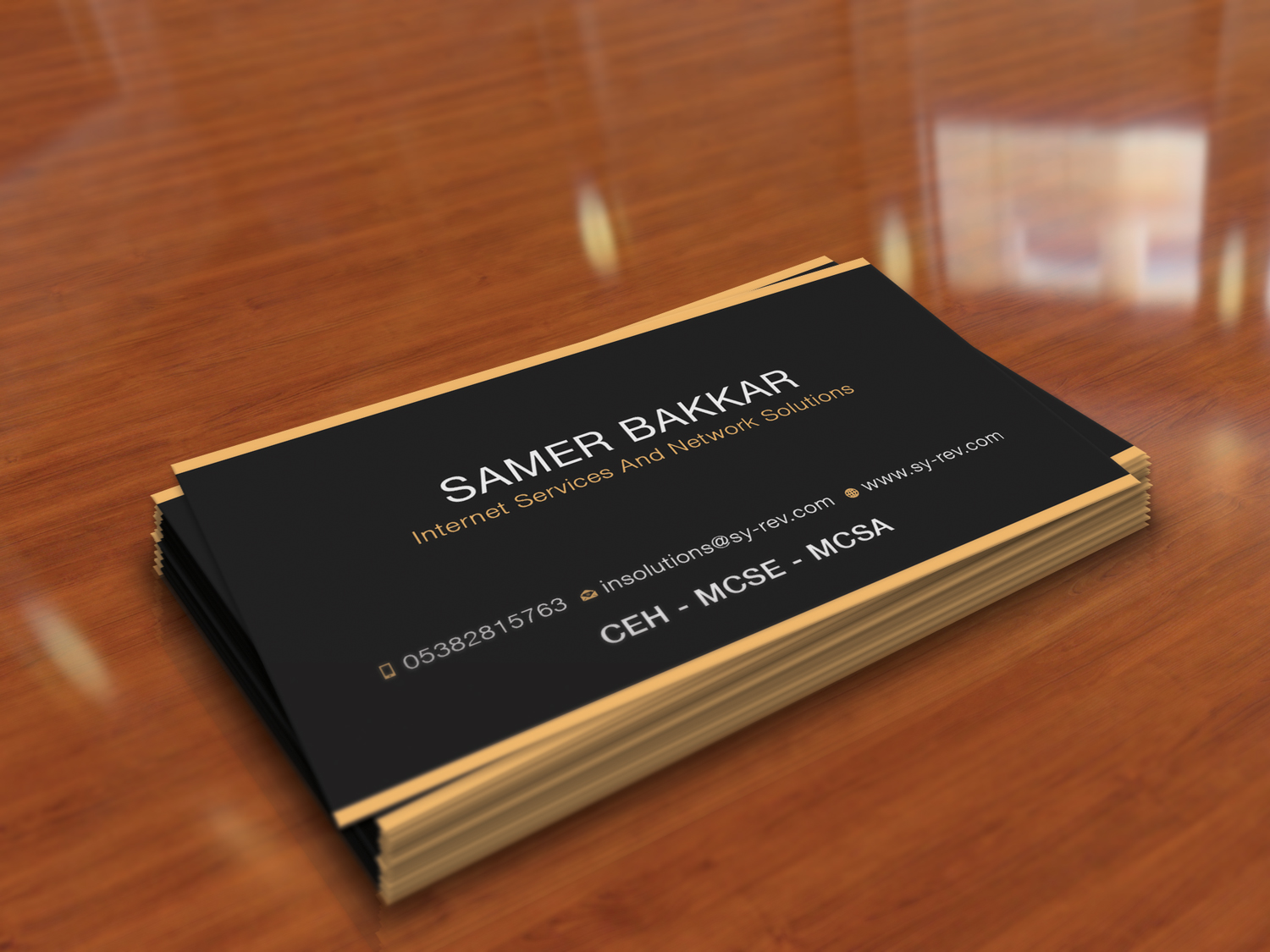 68 Sophisticated Business Card Designs | Information Technology ...