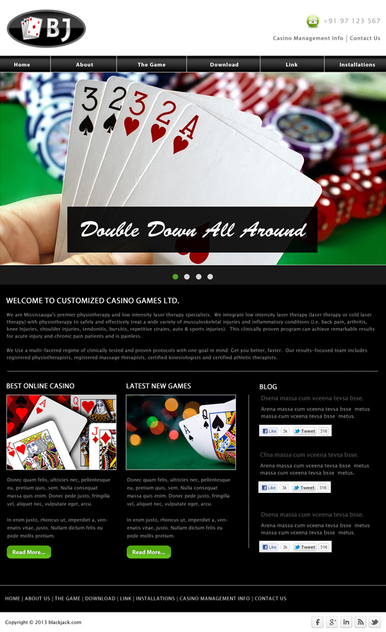 online casino management system