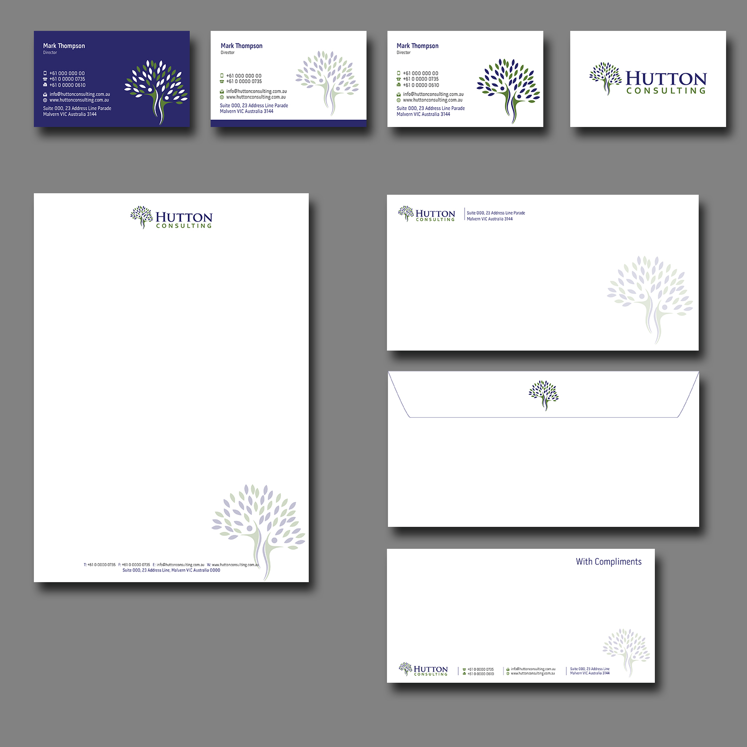 upmarket professional business stationery design for a company by