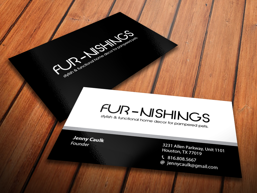 Upmarket elegant pet shop business card design for i would like my business card design by primarydesigner2k9 for this project design 10627461 colourmoves