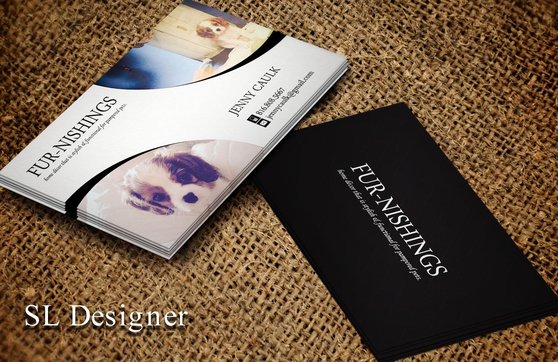 Upmarket Elegant Business Card Design For Jenny Caulk By
