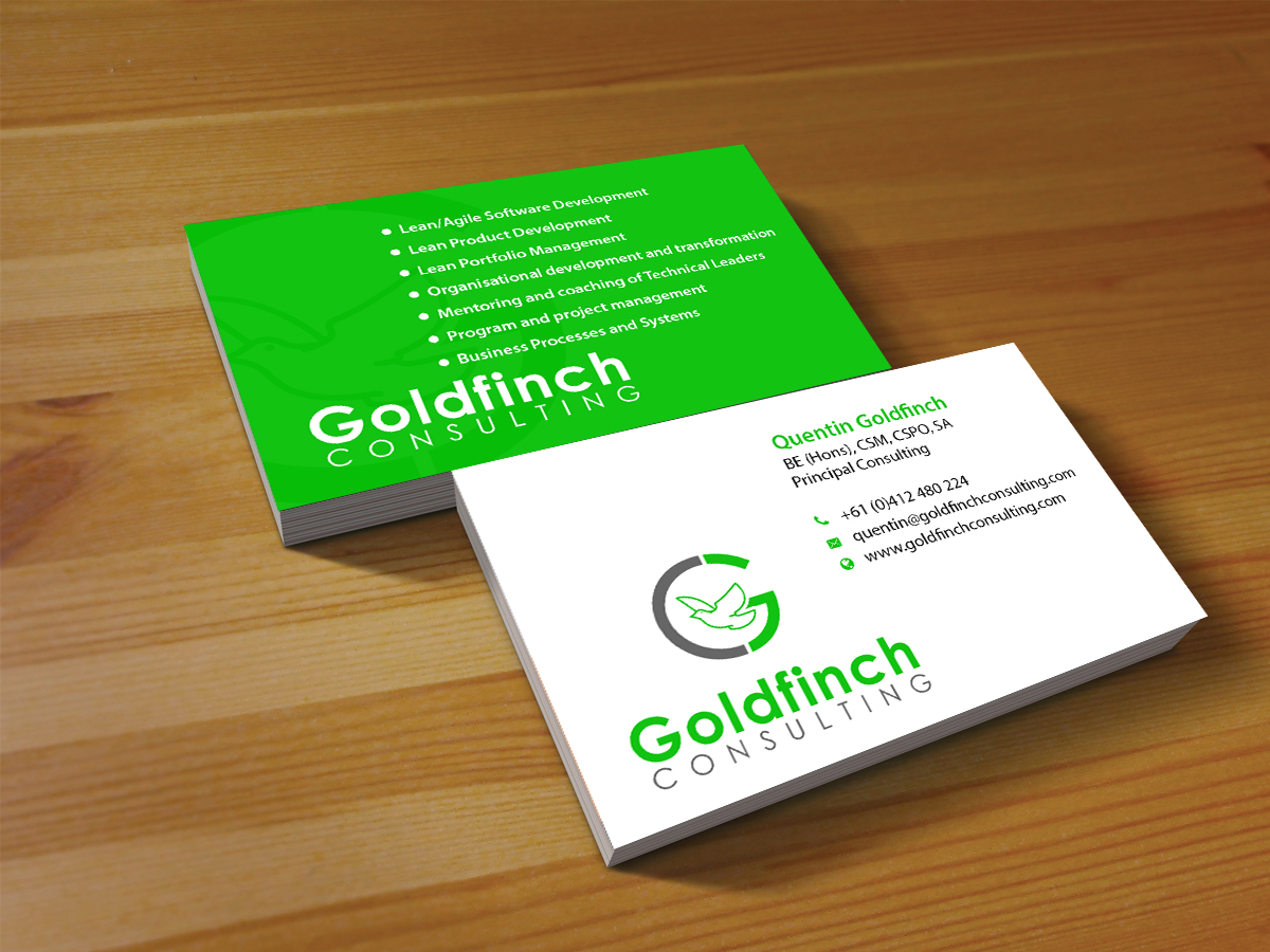 Modern, Professional, Information Technology Business Card Design ...
