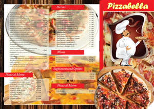 Menu Design by Artikrafts