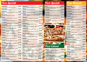 Menu Design by Ekanite
