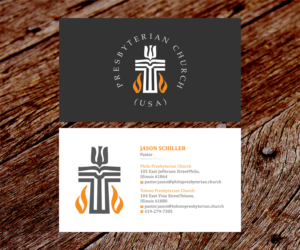 41 Modern Business Card Designs Religious Business Card Design