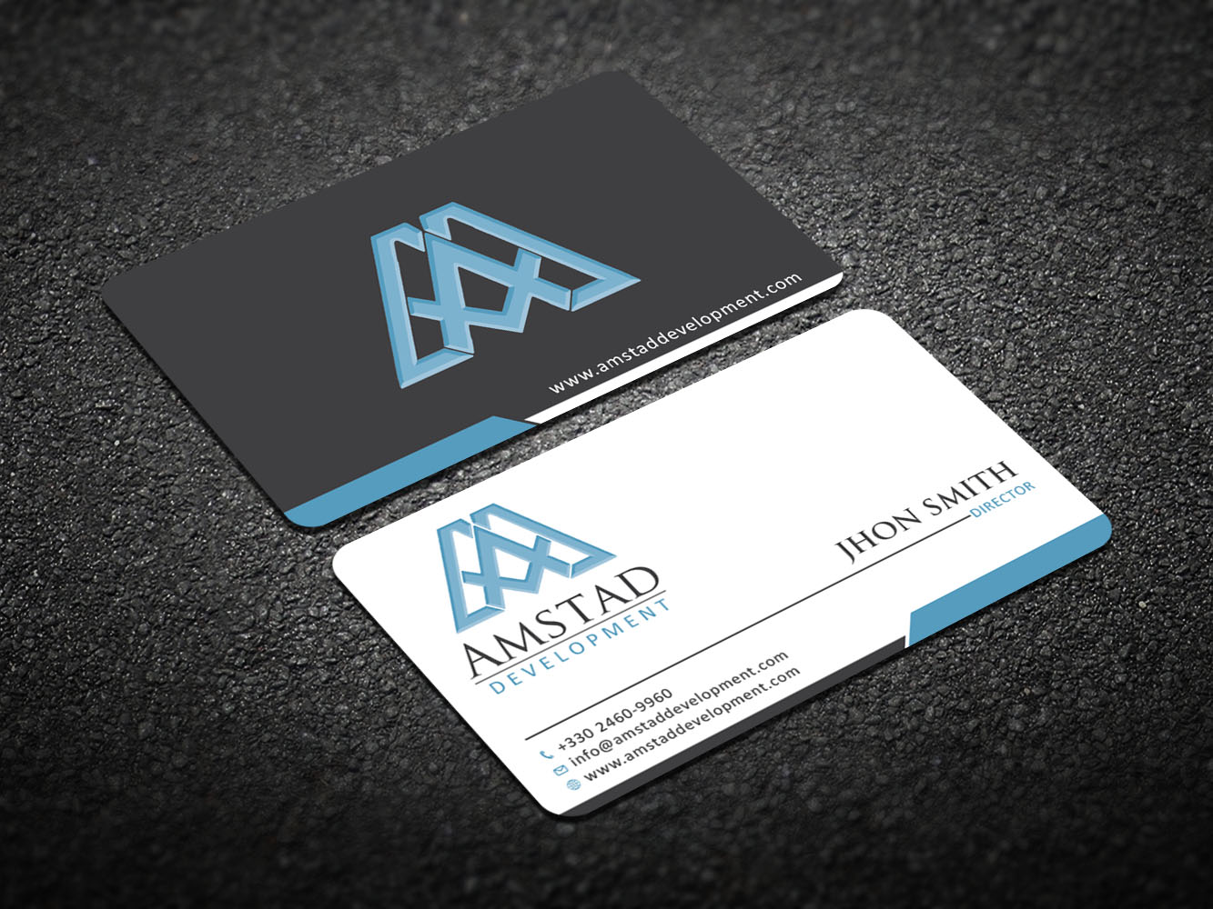 Elegant professional real estate development business card design business card design by design xeneration for this project design 10656383 reheart Image collections