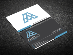 166 Elegant Professional Real Estate Development Business Card ...