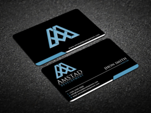 166 elegant business card designs real estate development business business card design by design xeneration for this project design 10656387 reheart Image collections