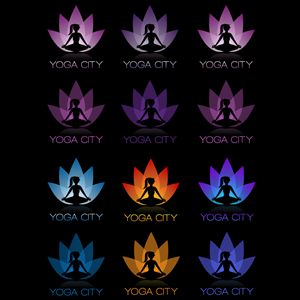 Logo Design job – Logo design for a YOGA and Wellness Studio – Winning design by inspiral