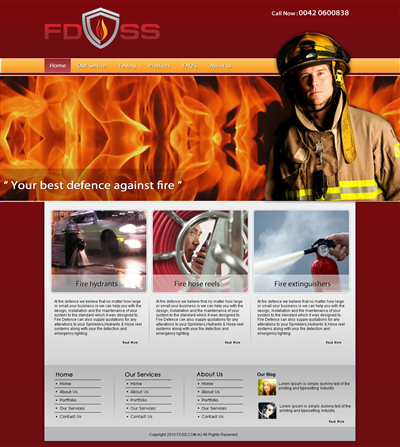 Custom Made Accountant Website Design 463387