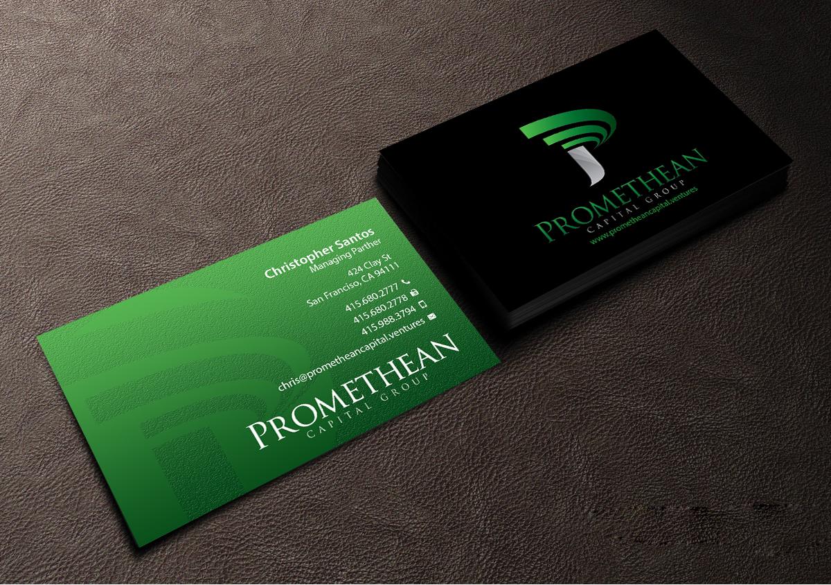 154 Bold Business Card Designs   Venture Capital Business Card ...
