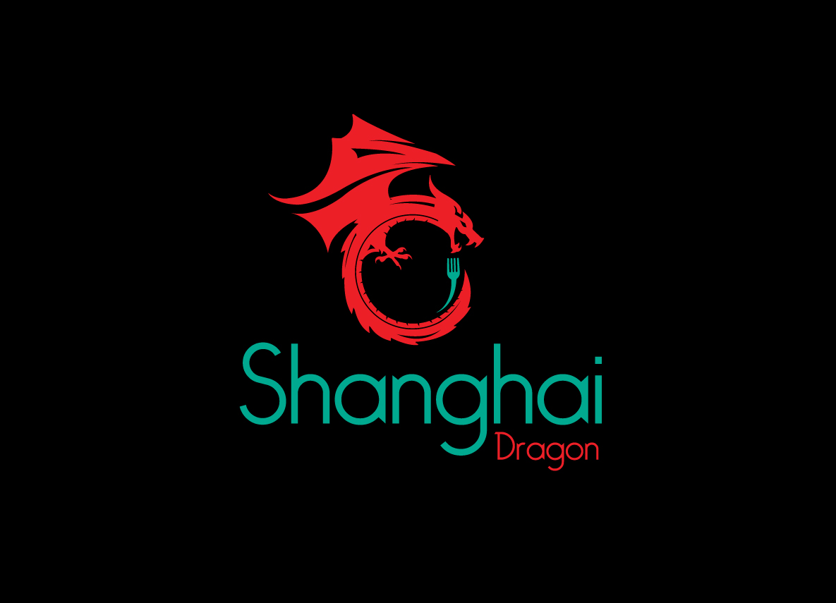 Modern Masculine Asian Restaurant Logo Design For Shanghai Dragon By Creative Bugs Design 10662162