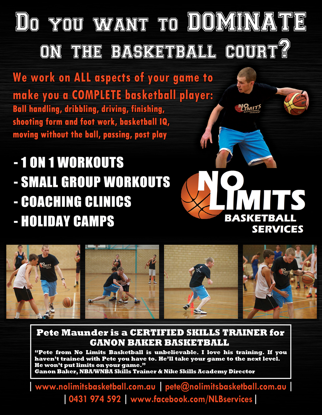 Flyer Design By Janith N. For Basketball Training Company Flyer Design    Design #2247791