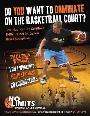 Attractive Flyer Design (Design #2254127) Submitted To Basketball Training Company Flyer  Design (Closed