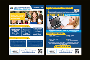 Flyer Design by GrapesArts - Schools E commerce online payments project