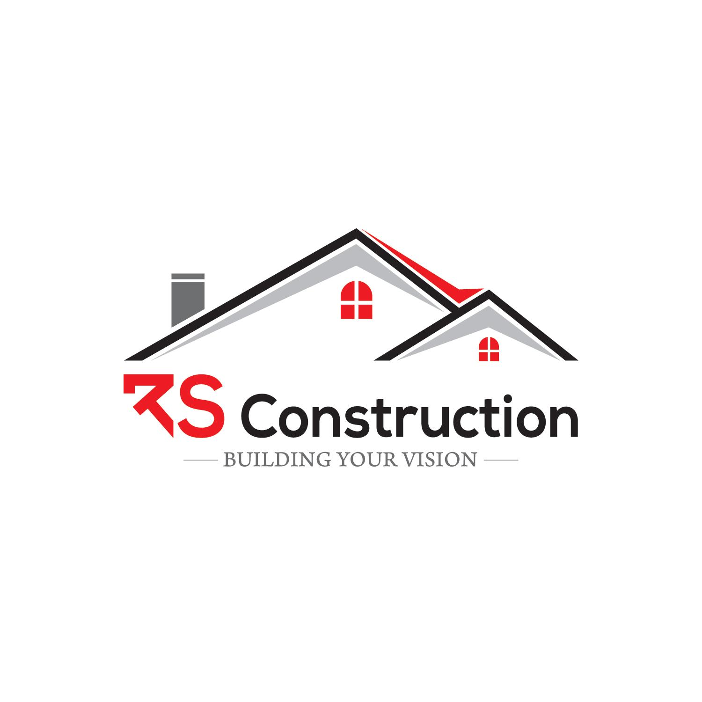 serious  upmarket  construction logo design for rs