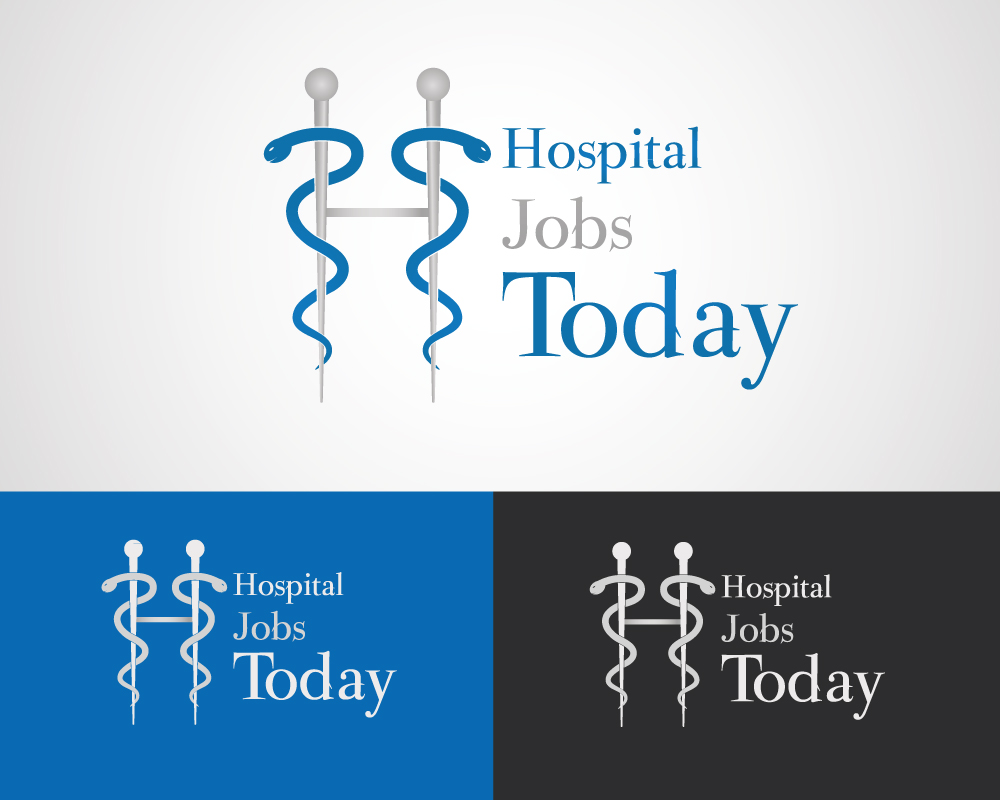 Elegant playful logo design for brandon armstrong by sg logo design by sg futuretech for hospital jobs today a nationwide job board search company pooptronica