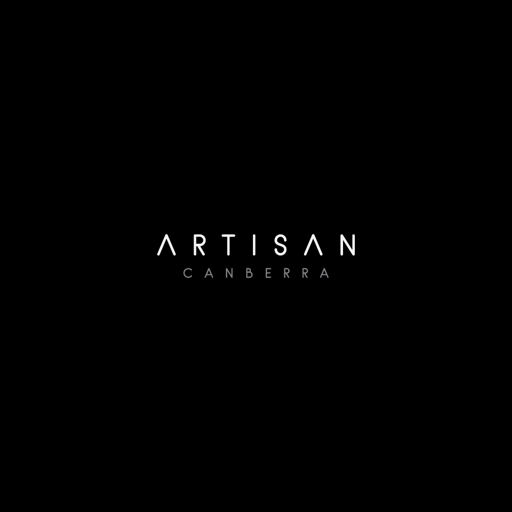 Black Artisan Modern Café Logo by Hartawan®