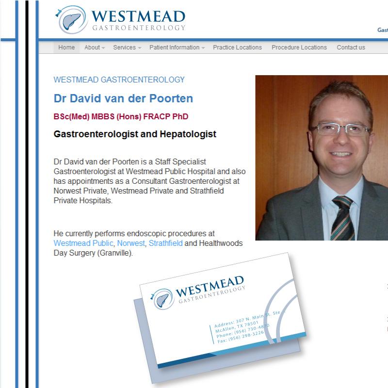Hospital Logo Design for Westmead Gastroenterology by