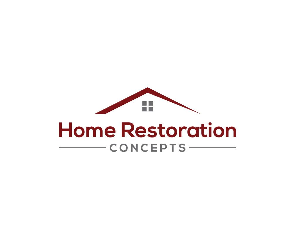 Modern, Masculine, Home Improvement Logo Design for Home Restoration ...